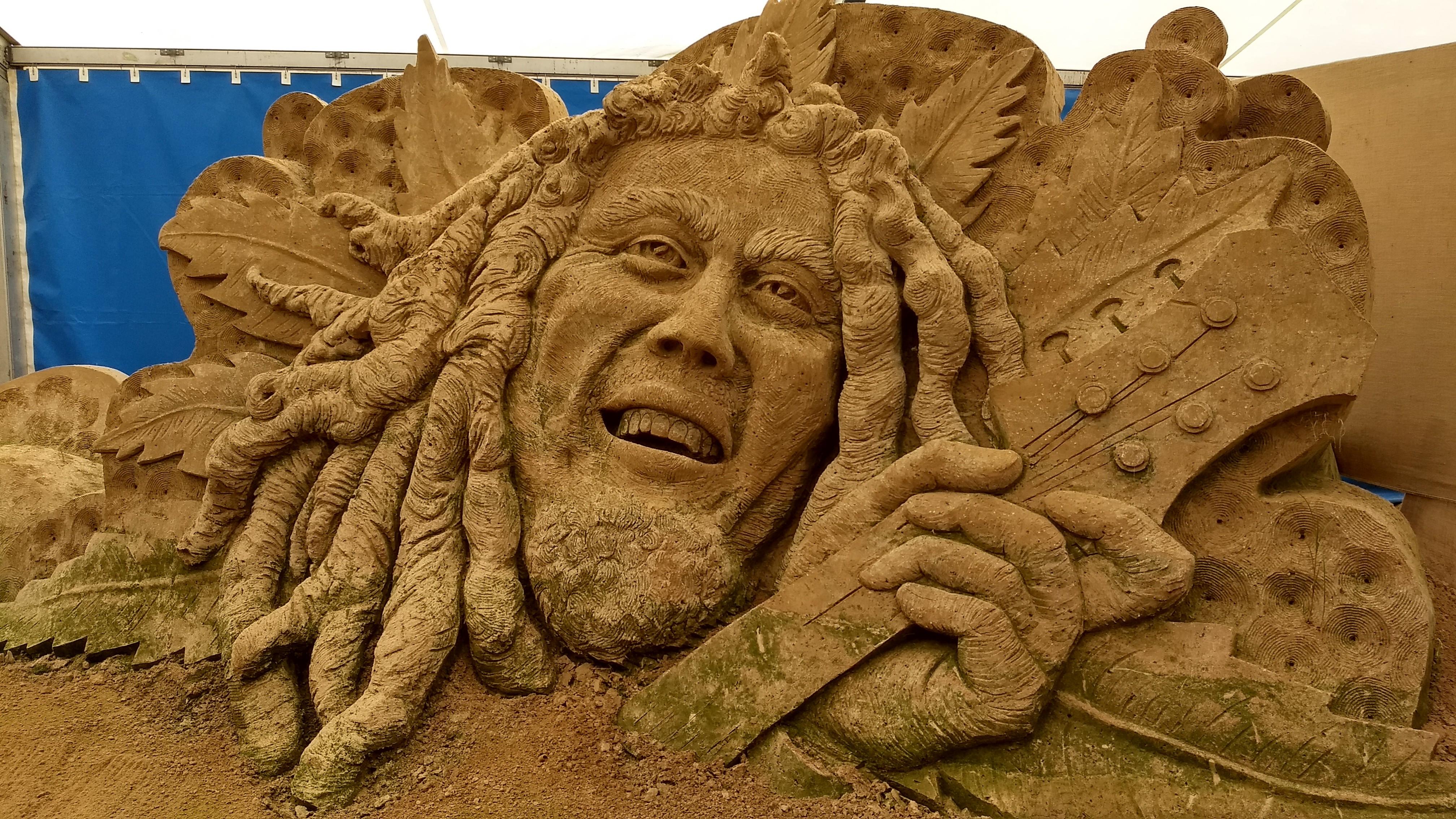 Sandskulpturenfestival Binz 2017