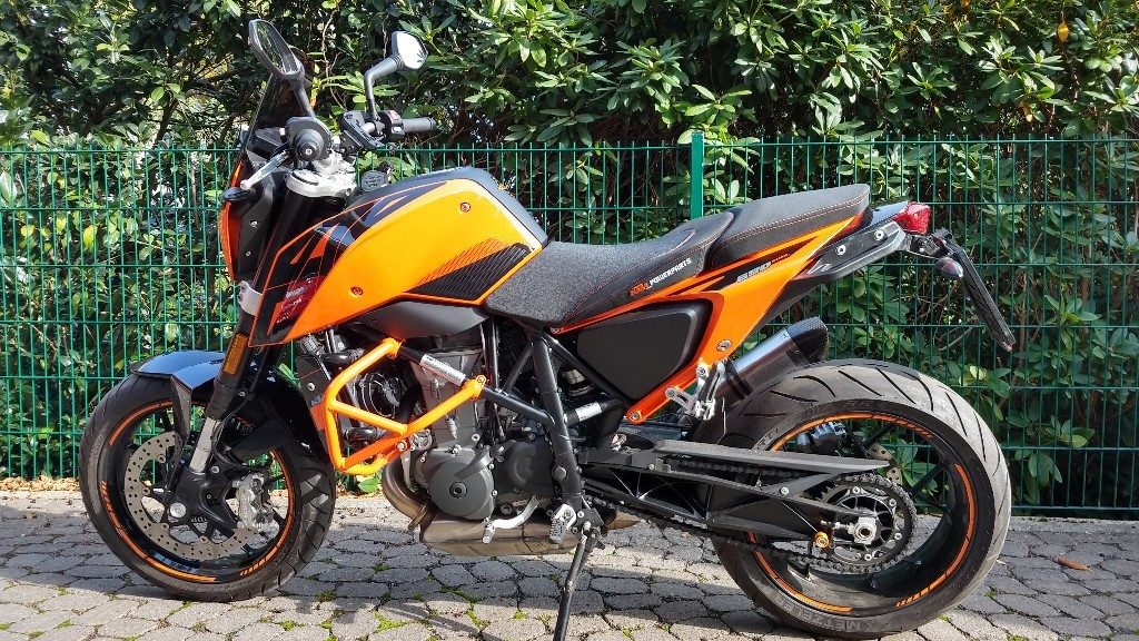 KTM Duke 690 – Ready to Race – Update
