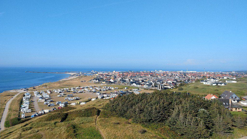 Hirtshals im Nordwesten von Dänemark