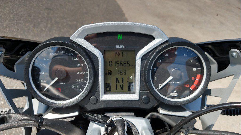 Cockpit der BMW R 1200 R