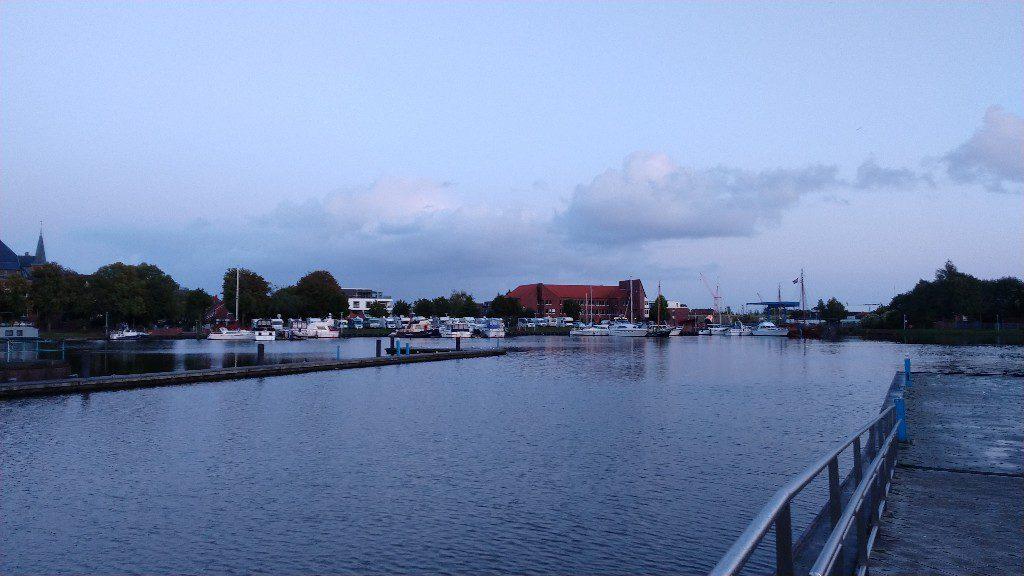 Binnenhafen Emden in Ostfriesland