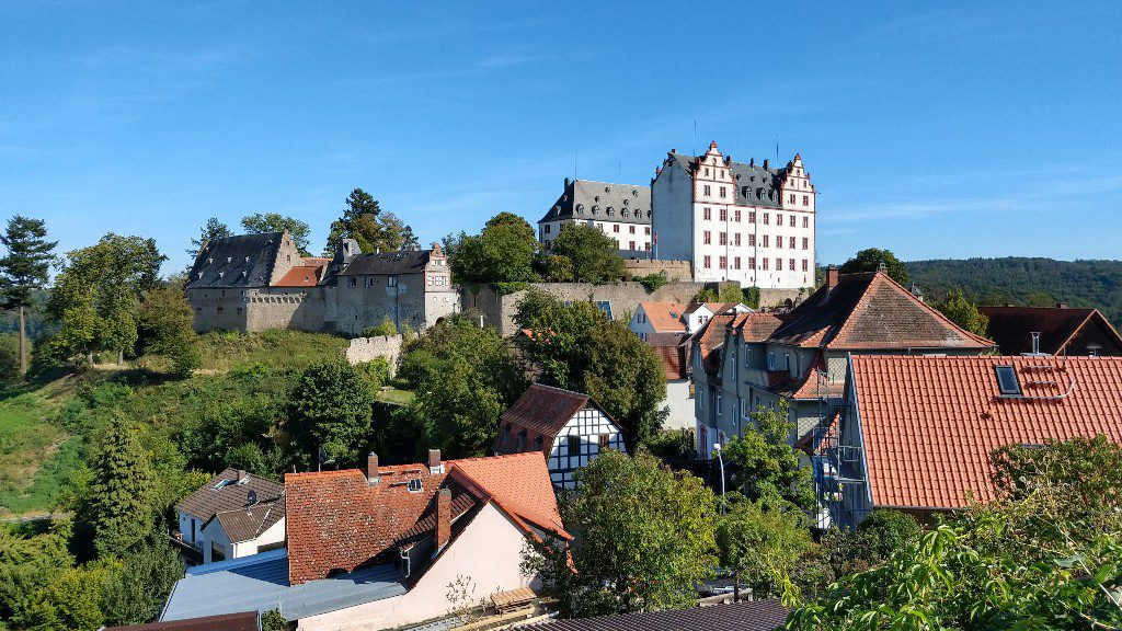 Schloss Lichtenberg im Odenwald