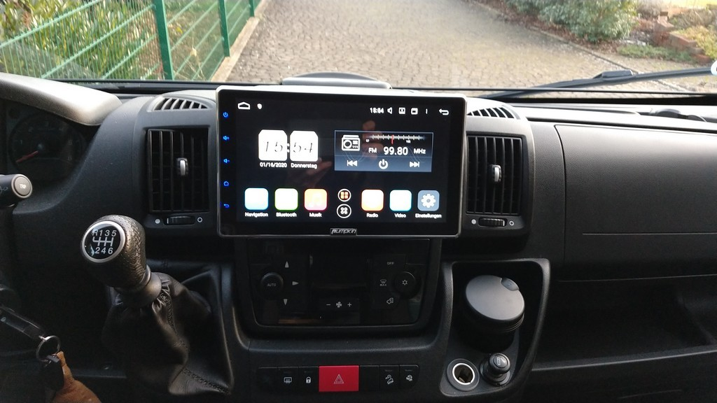 Ausprobiert: Autoradio Pumpkin Android 9.0 – 10.1 Zoll