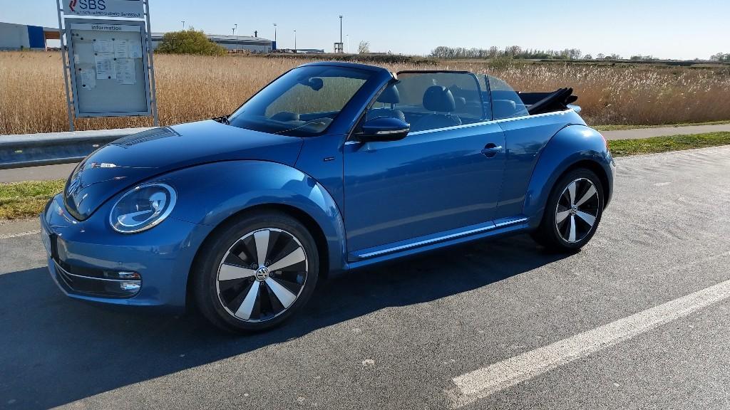 Ansicht des VW Beetle Cabrio 2.0 TDI Allstar
