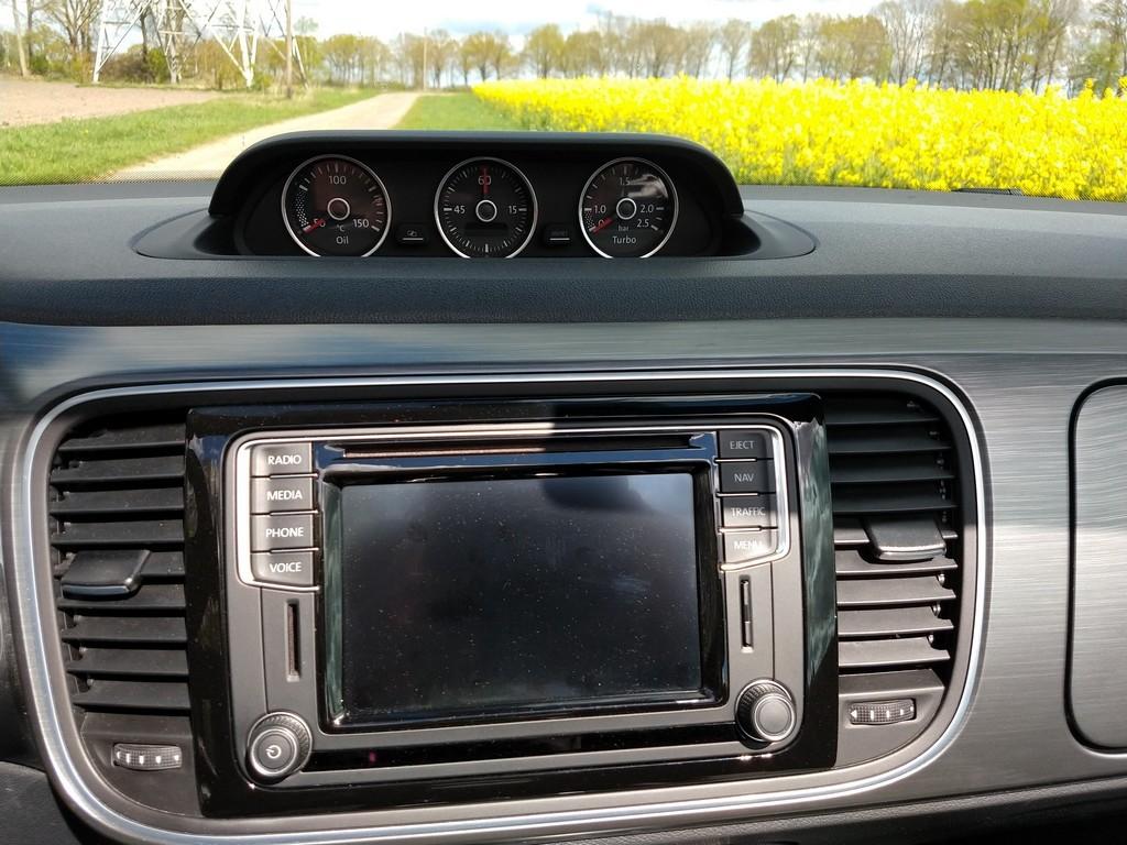 Zusatzausstattung des VW Beetle Cabrio
