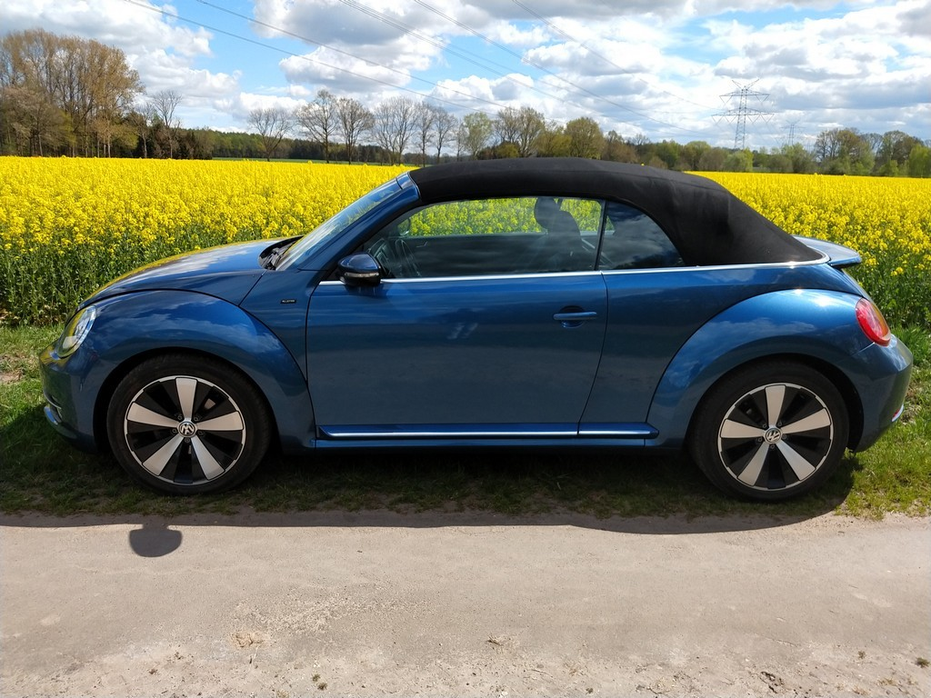 VW Beetle Cabrio 2.0 TDI Allstar – Erfahrungen