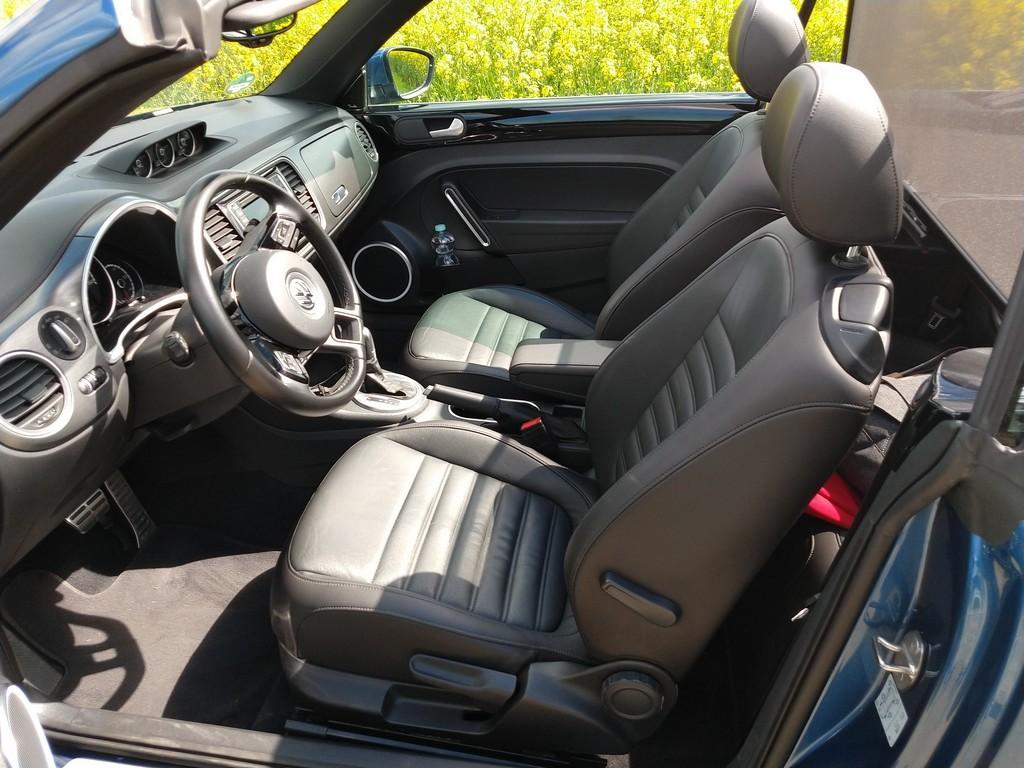 Arbeitsplatz des VW Beetle Cabrio