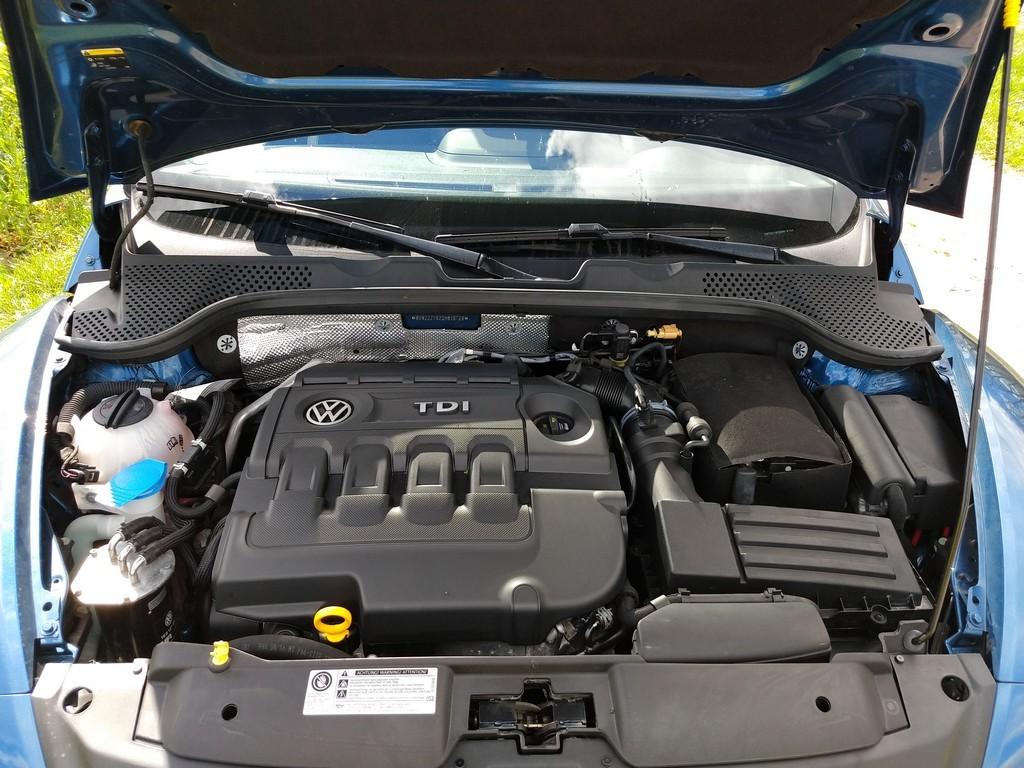 Motor des VW Beetle Cabrio