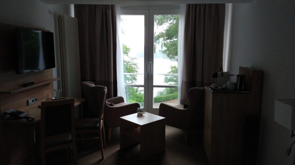 Zimmer mit Aussicht im Waldhotel Mölln