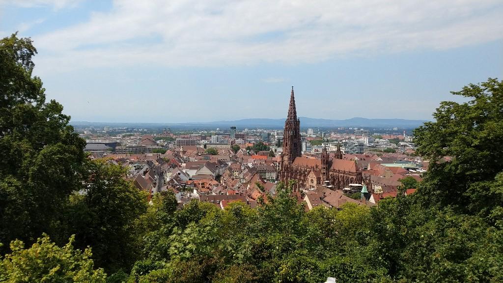 Trip nach Freiburg vom Münstertal aus