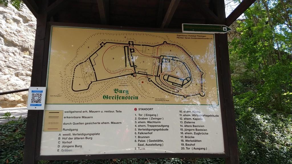 Burg Greifenstein im Thüringer Wald