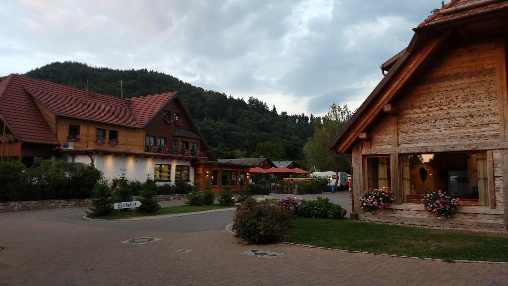 Einfahrt Campingpark Münstertal