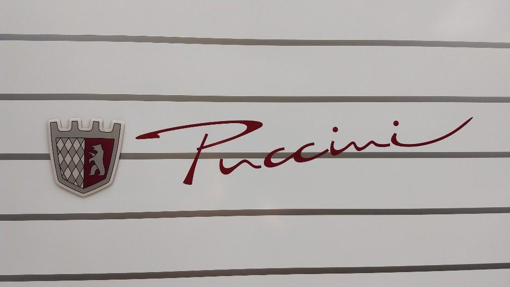 Schriftzug des Tabbert Puccini