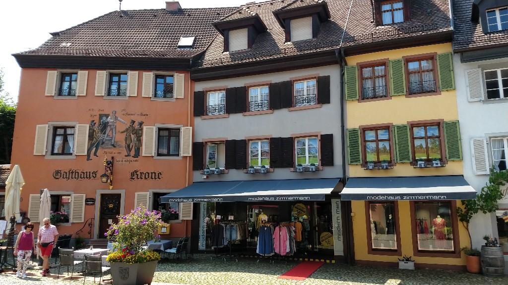Trip nach Staufen vom Münstertal aus