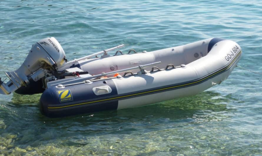 Schlauchboot Zodiac mit 20 PS Motor