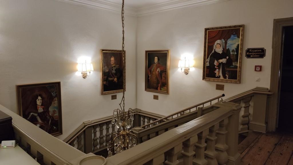 Aufgang im Stadtschloss Hecklingen