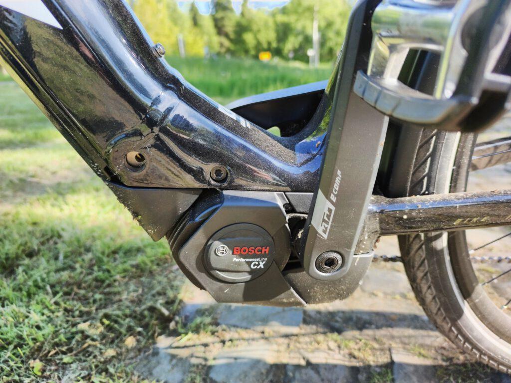 Motor des KTM Macina Tour